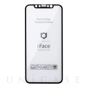 【iPhone11/XR フィルム】iFace Round Edge Tempered Glass Screen Protector ラウンドエッジ強化ガラス 液晶保護シート (ブラック)