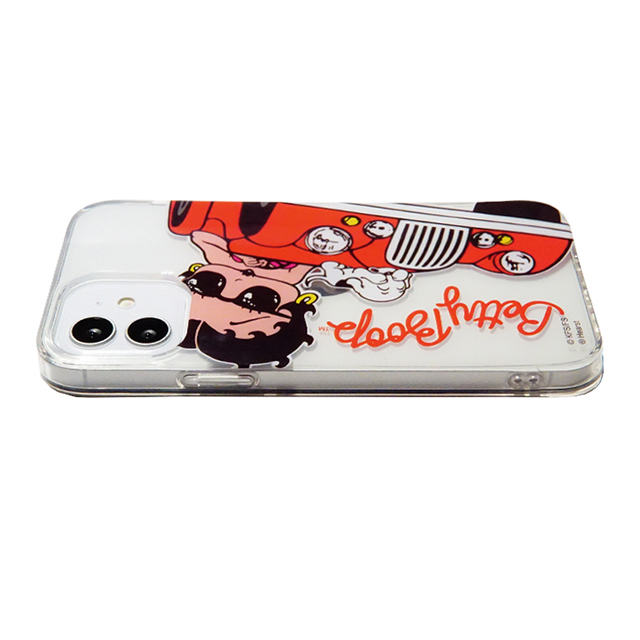 【iPhone12 mini ケース】BETTY BOOP TPUケース (RIDE ON)