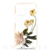 【iPhone12/12 Pro ケース】Anti-Shock Case (Elderflower Clear)