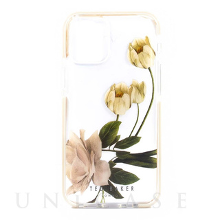 【iPhone12 Pro Max ケース】Anti-Shock Case (Elderflower Clear)