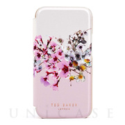 【iPhone12 Pro Max ケース】Folio Case (Jasmine Pink Cream Rose Gold)