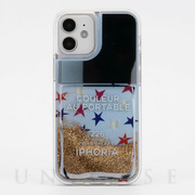 【iPhone12/12 Pro ケース】Liquid Case (Nailpolish Coleur Au Portable Blue Galaxy)