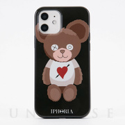 【iPhone12/12 Pro ケース】Teddy Bear with Heart