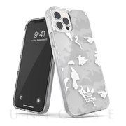【iPhone12/12 Pro ケース】Snap Case Camo AOP (clear/white)
