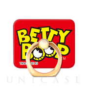 スマホリング Betty Boop SQUARE (Eyes and logo)