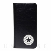 【iPhoneSE(第2世代)/8/7 ケース】Uncle Patch  PU Leather Book Type Case (BLACK)