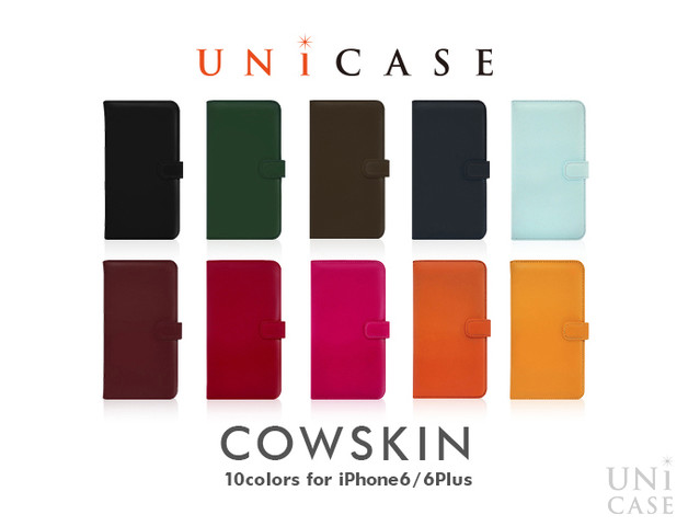 【iPhone6s/6 ケース】COWSKIN Diary Navy×Pink for iPhone6s/6の全色