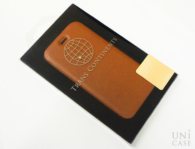 【iPhone6s/6 ケース】TRANS CONTINENTS LEATHER CASE for iPhone6s/6 (Brown)のパッケージ