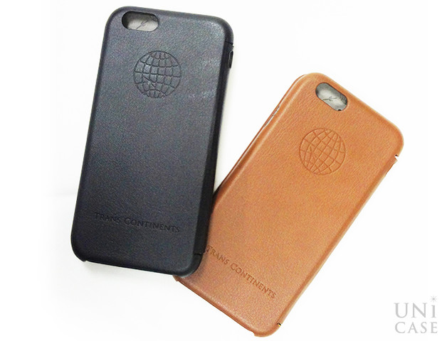 【iPhone6s/6 ケース】TRANS CONTINENTS LEATHER CASE for iPhone6s/6 (Brown)の全体
