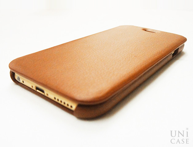 【iPhone6s/6 ケース】TRANS CONTINENTS LEATHER CASE for iPhone6s/6 (Brown)のフリップカバー