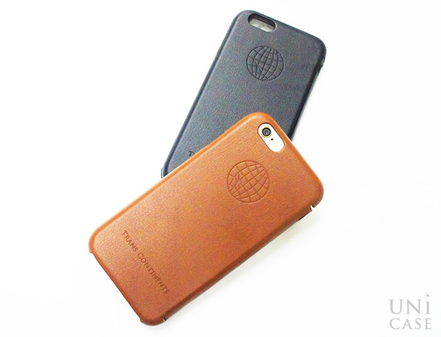 【iPhone6s/6 ケース】TRANS CONTINENTS LEATHER CASE for iPhone6s/6 (Brown)