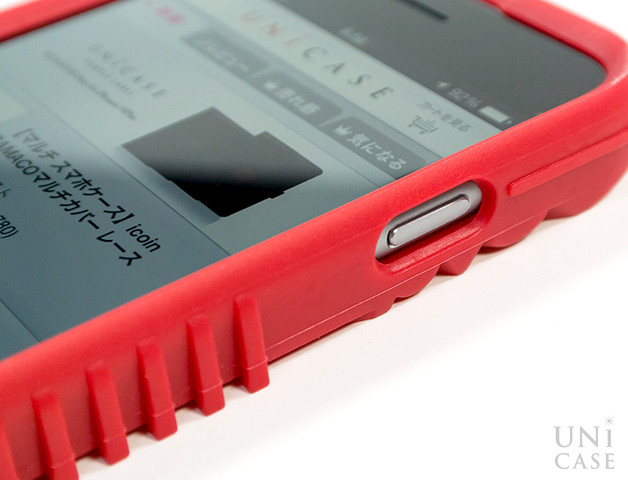 【iPhone6s/6 ケース】NIKE AIR FORCE 1 PHONE CASE REDの電源ボタン