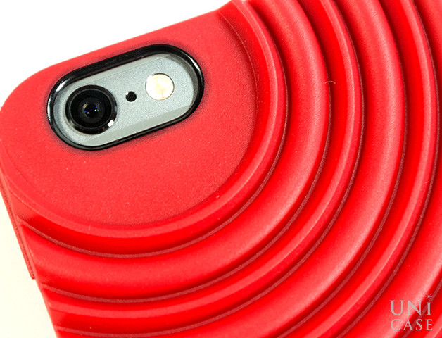 【iPhone6s/6 ケース】NIKE AIR FORCE 1 PHONE CASE REDのカメラ周り