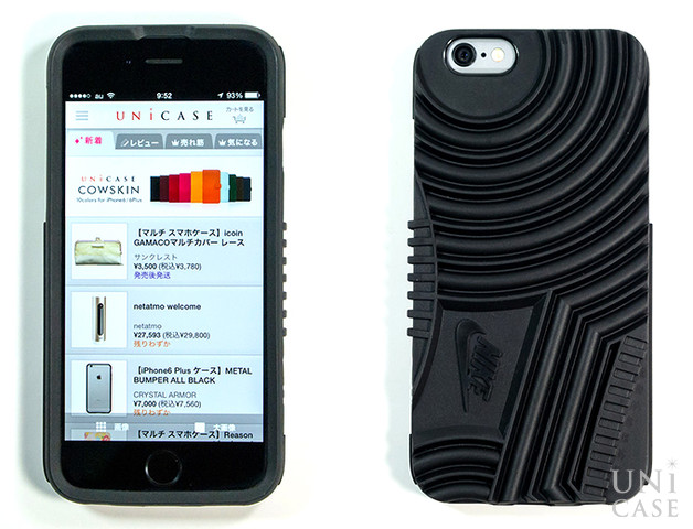 【iPhone6s/6 ケース】NIKE AIR FORCE 1 PHONE CASE (RED)の黒の全体