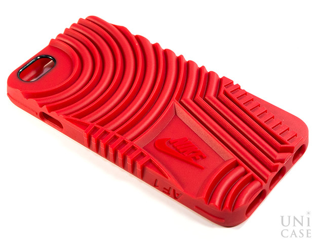 【iPhone6s/6 ケース】NIKE AIR FORCE 1 PHONE CASE REDの背面