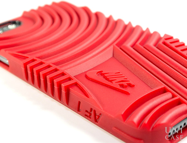 【iPhone6s/6 ケース】NIKE AIR FORCE 1 PHONE CASE (RED)のパターン
