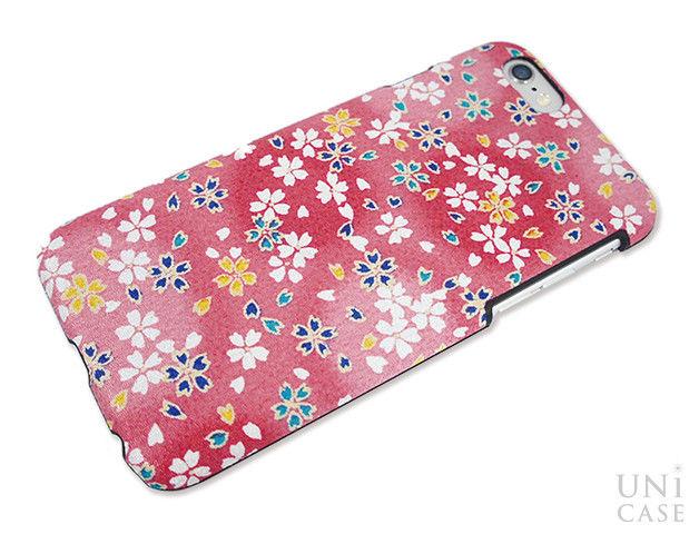 81b5b5f886 今回は舞桜<桃>の柄を紹介いたします。 『ALL made in Japan』なのでケース はもちろん、和柄生地やパッケージに至るまですべてを日本国内で生産。
