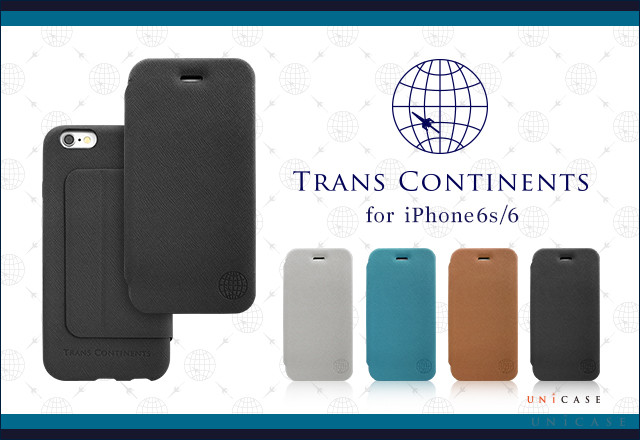 「TRANS CONTINENTS×UNiCASE」コラボ第三弾 iPhone6s/6 ケース発売!!