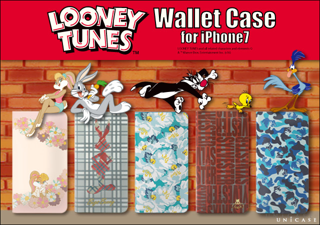 """LOONEY TUNES×UNiCASE""コラボiPhone7ケース発売!!"
