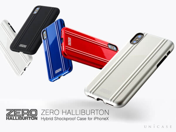 【iPhoneX ケース】ZERO HALLIBURTON Shockproof case for iPhone X