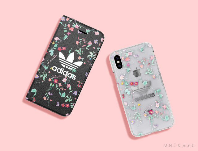adidas Originals新作!小花柄がかわいいケース:Clear Case Graphic AOP for iPhone8/7/6s/6,iPhoneXS/X:Booklet Case Graphic AOP or iPhone8/7/6s/6