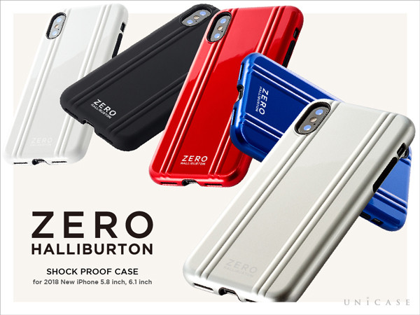 ZERO HALLIBURTON Hybrid Shockproof Case for iPhoneXS/X, iPhoneXR
