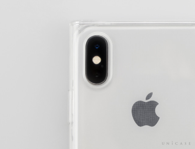 【iPhoneXS/X ケース】Maelys Collections for iPhoneXS/X (Clear)装着レビュー カメラ