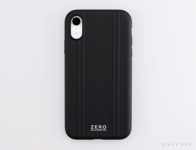 【iPhoneXR ケース】ZERO HALLIBURTON Hybrid Shockproof case for iPhoneXR (Black)レビュー 全体