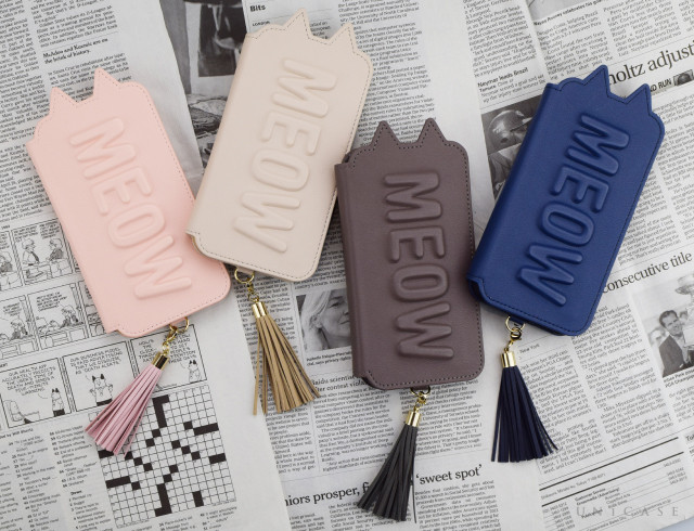 "多くの女性を虜にしている""Tassel Tail Cat""♪UNiCASE限定カラーも登場!:Tassel Tail Cat for iPhoneXS/X、iPhoneXR"