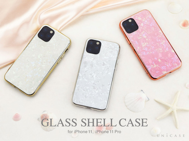 【iPhone 11 Pro / iPhone 11 ケース】Glass Shell Case