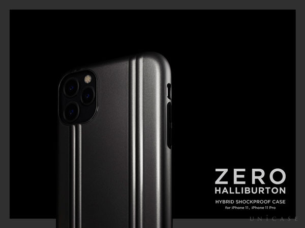 ZERO HALLIBURTON Hybrid Shockproof Case for iPhone11/XR, iPhone11 Pro
