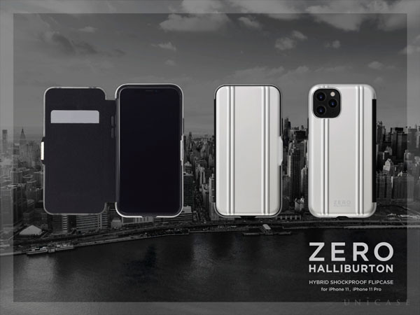 ZERO HALLIBURTON Hybrid Shockproof Flip Case for iPhone11/XR, iPhone11 Pro