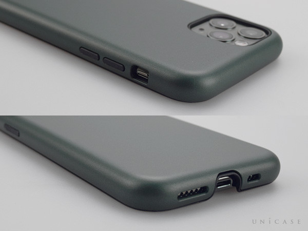 【iPhone11 Pro ケース】Smooth Touch Hybrid Case for iPhone11 Pro (green)装着レビュー スピーカー、側面