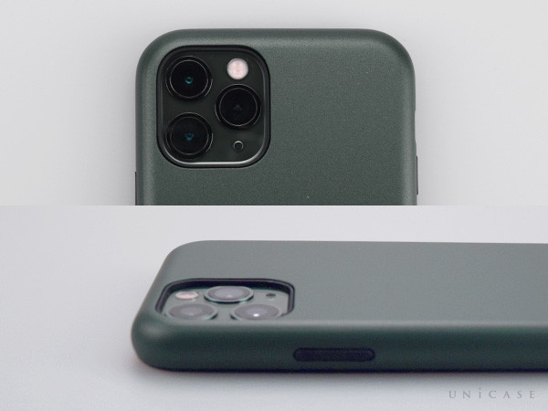 【iPhone11 Pro ケース】Smooth Touch Hybrid Case for iPhone11 Pro (green)装着レビュー カメラ
