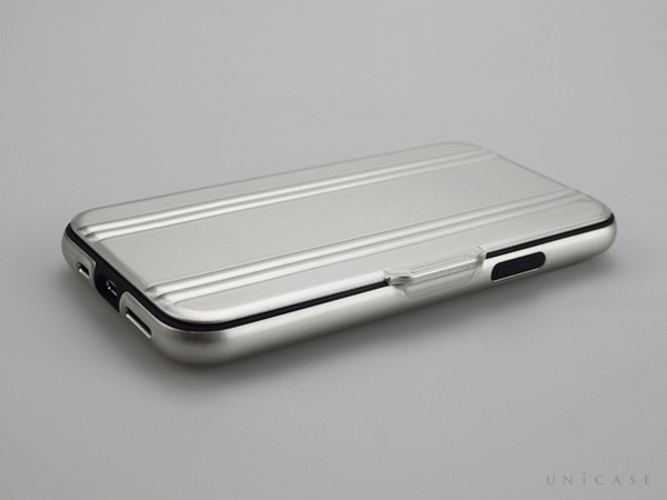 【iPhone11 Pro ケース】ZERO HALLIBURTON Hybrid Shockproof Flip case for iPhone11 Pro (Silver)装着レビュー 閉じる