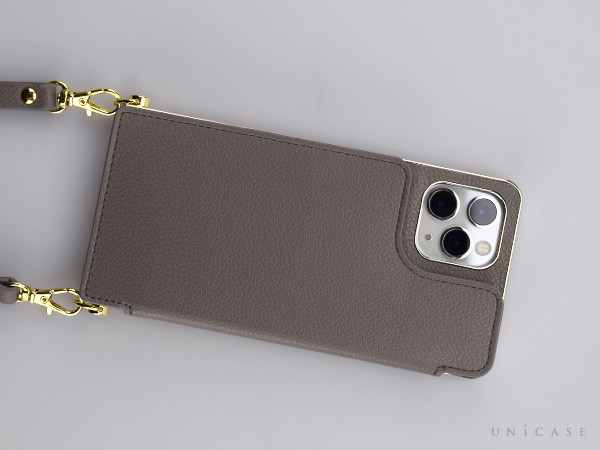 【iPhone11 Pro ケース】Cross Body Case for iPhone11 Pro (gray)レビュー 全体