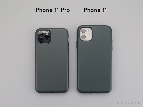 【iPhone11 Pro ケース】Smooth Touch Hybrid Case for iPhone11 Pro (green)装着レビュー 全体