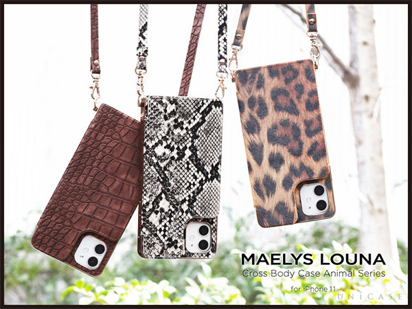 Cross Body Case Animal Series for iPhone11/XR