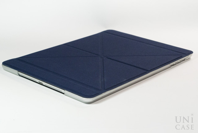 【iPad Air(第1世代) ケース】VersaCover (Denim Blue)の薄さ