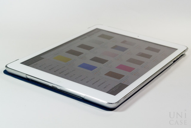 【iPad Air(第1世代) ケース】VersaCover (Denim Blue)の開き