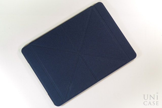 【iPad Air(第1世代) ケース】VersaCover (Denim Blue)の前面