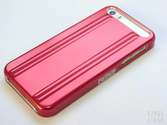 【iPhone5s/5 ケース】ZERO HALLIBURTON for iPhone5s/5 (Red)の特徴ダブルリブ