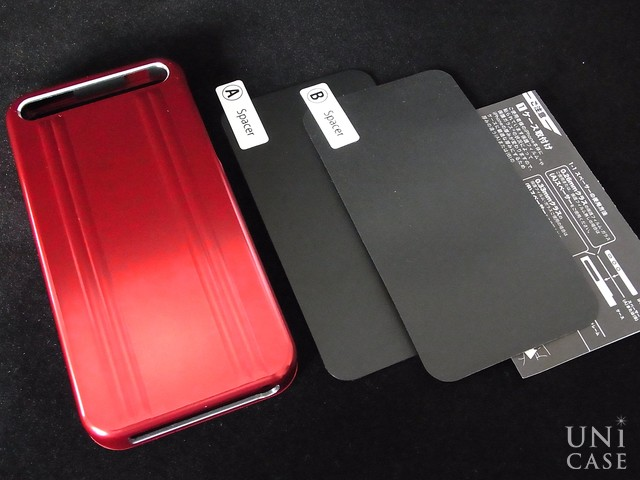 【iPhone5s/5 ケース】ZERO HALLIBURTON for iPhone5s/5 (Red)の付属品