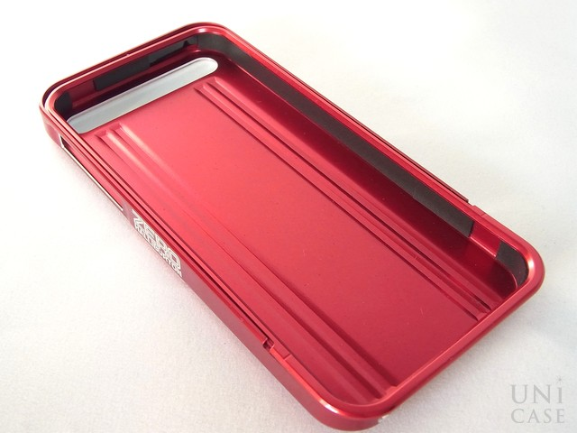 【iPhone5s/5 ケース】ZERO HALLIBURTON for iPhone5s/5 (Red)の内側
