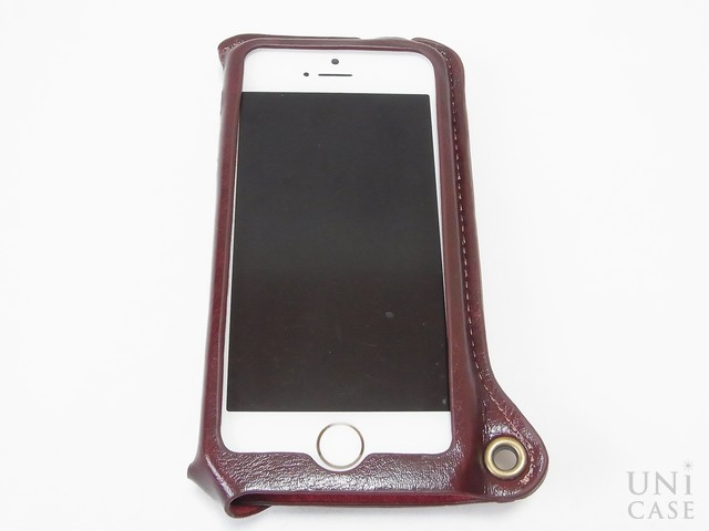 【iPhone5s/5 ケース】BZGLAM Wearable Leather Cover ブラウンのメリット