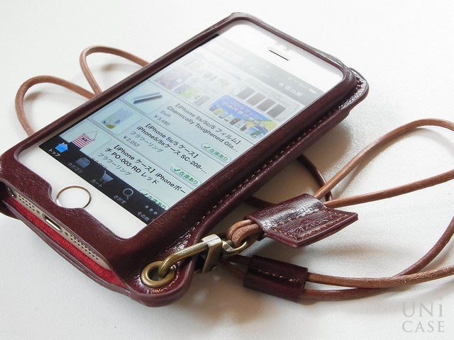 【iPhone5s/5 ケース】BZGLAM Wearable Leather Cover ブラウンのレビュー