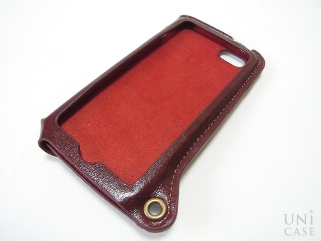 【iPhone5s/5 ケース】BZGLAM Wearable Leather Cover ブラウンの特徴