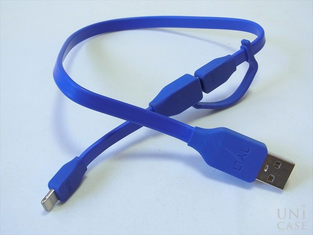 DUO SYNCABLE - MICRO/LIGHTNING - USB/0.3M BLUEの接続