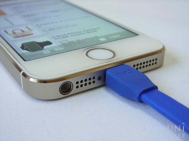 DUO SYNCABLE - MICRO/LIGHTNING - USB/0.3M BLUEのコネクタまわり