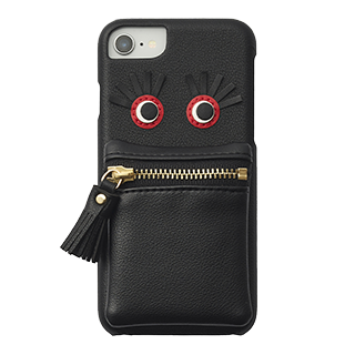 【iPhoneSE(第2世代)/8/7 ケース】follow you case for iPhone8/7 (black)